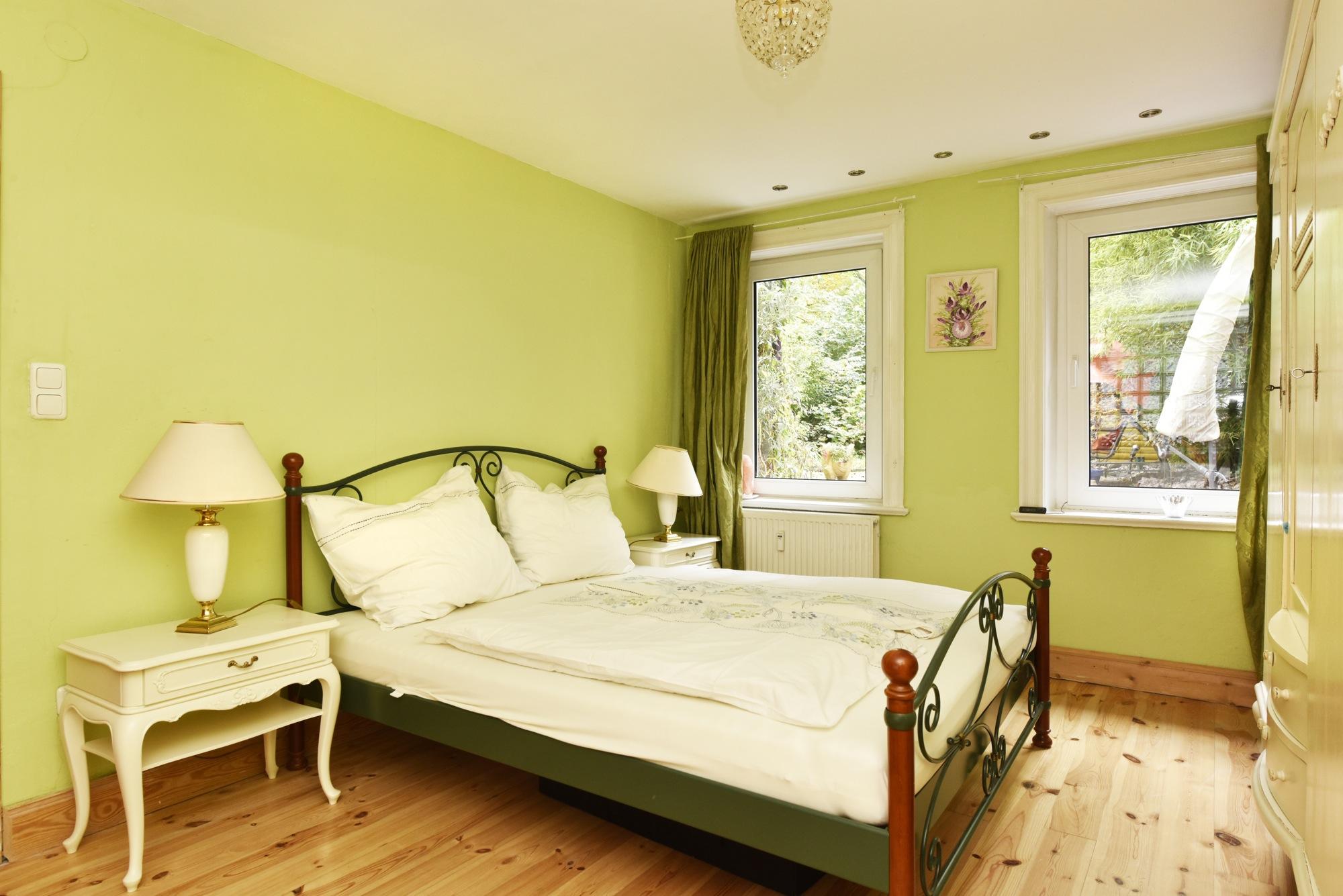 Schlafen Sie ruhig und grün